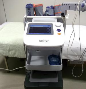 血圧脈波検査の画像