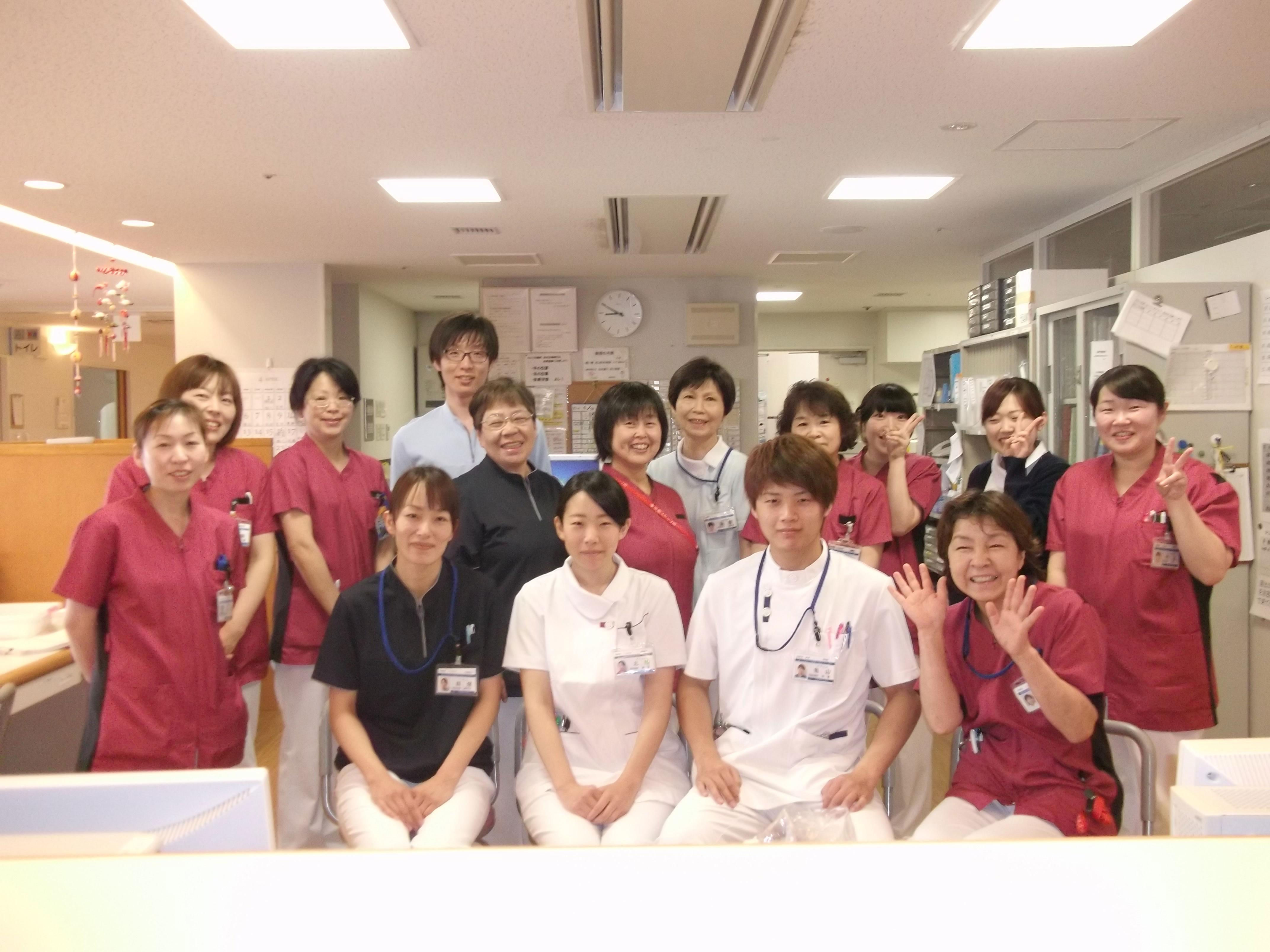 病院病棟画像